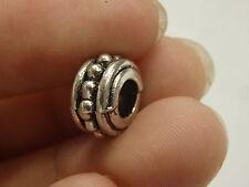 20 round european charm beads bracelet tibetan silver spacer beads wholesale