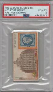 1889-N85-W-Duke-Sons-amp-Co-Postage-Stamps-N-Y-Post-Office-Graded-PSA-4