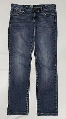 "Clothing, Shoes & Accessories Jeans Kut From The Kloth Ankle Jeans Women's Size 2 Inseam 27.5"" Special Summer Sale"