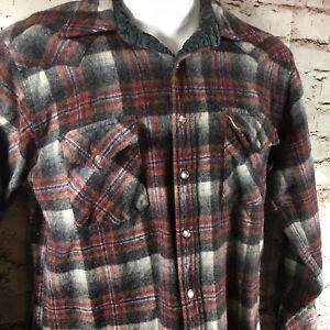 808e3a8b Image is loading Vintage-Pendleton-High-Grade-Wool-Western-Wear-Pearl-