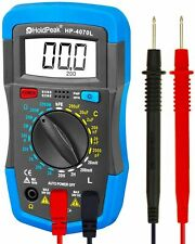 Holdpeak Digital Inductance Lcd Meter Hfe Test 2000 Count Capacitance Multimeter
