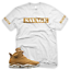 White-Wheat-SAVAGE-T-Shirt-for-Jordan-Golden-Harvest-6-OG-Wheat-Gold-1-13 thumbnail 1