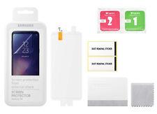 2x Displayschutzfolie f. Original Samsung Galaxy S8 Displayfolie Schutzfolie OVP