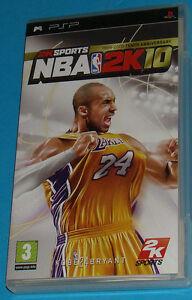 NBA 2K10 - Sony PSP - PAL