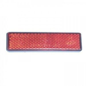 Rouge-Universel-Reflecteur-D-039-Oeil-de-Chat-Reflecteur-Rouge-Moto-Auto-Recht-Carre