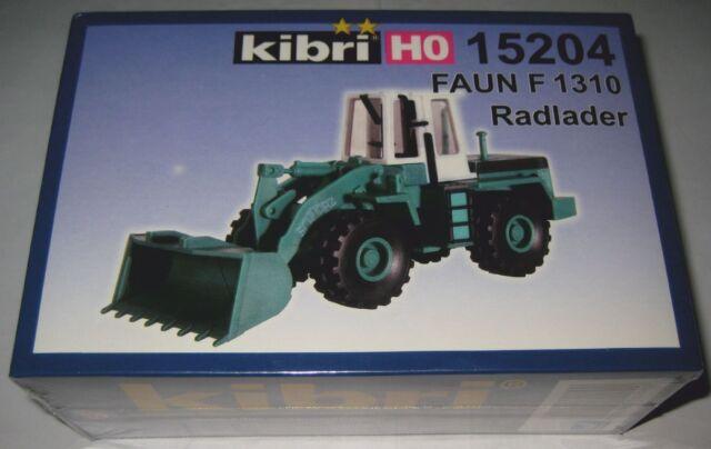 Kibri 15204 H0 LKW Faun Radlader F1310 SchwarzBau