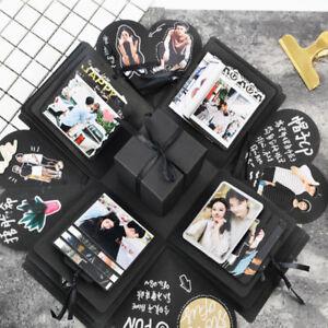 Image Is Loading Birthday Gift Explosion Box Memory Scrapbook Photo Album