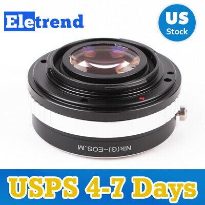 M EF-M EOS-M Mirrorless 58mm Macro Reverse Adapter Ring Pixco Lens Adapter for Canon EOS M2