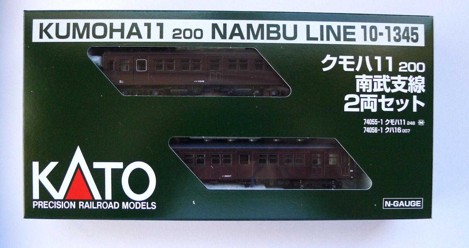 Kato N skala 10 -1345 KUMOHA 11 200 Nambu Line 2 bils