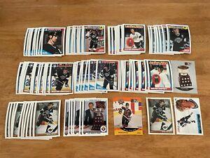 LL) Lot of  91 WAYNE GRETZKY Hockey Cards TOPPS SCORE KINGS HOF HUGE++
