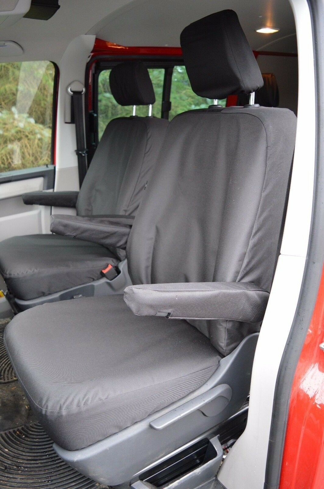 VW Transporter T5 Tailored Heavy Duty Seat Covers For CAPTAIN SEATS