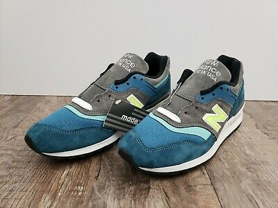 New Balance Made in USA 997 PAC   blue grey lime