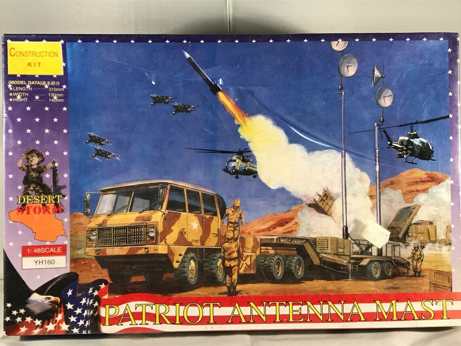 Desert Storm - Patriot - Antenna Mast YH160 Construction Kit 1 48 No.4