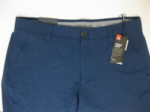 5ece7f5cf27 Jordan Spieth & UA Match Play Vented Golf Pants (ACADEMY BLUE) Men's ...