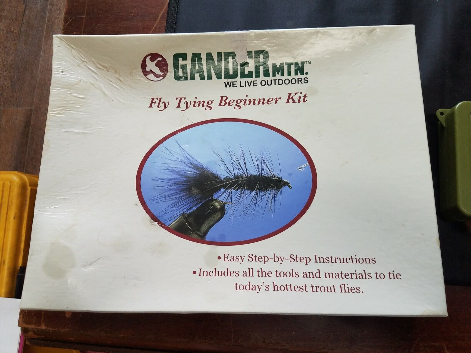 Gander Mountain Fly Kit Beginner Kit met Eay Instruction Extra Accessorie
