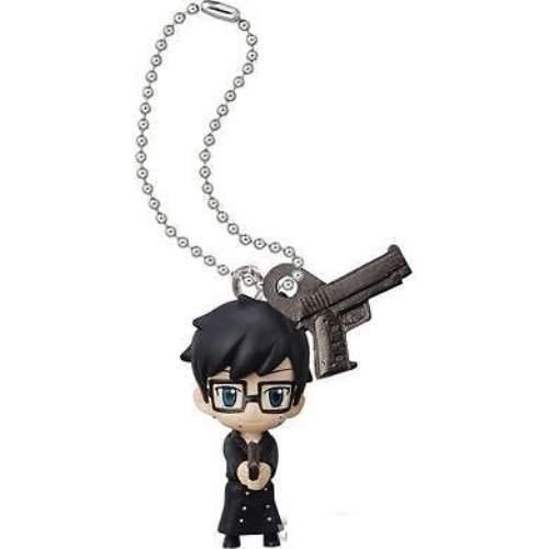 Blue Exorcist Ao no School Mascot W KeyChain Key Chain Figure Yukio /& Gun