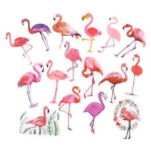 18pcs/set phone laptop flamingo stickers trunk guitar stickers for kids toYRYU