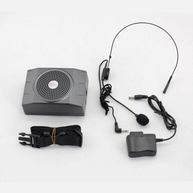 Pro Teacher Portable Waistband Voice Amplifier Microphone Mini Loudspeakers EP