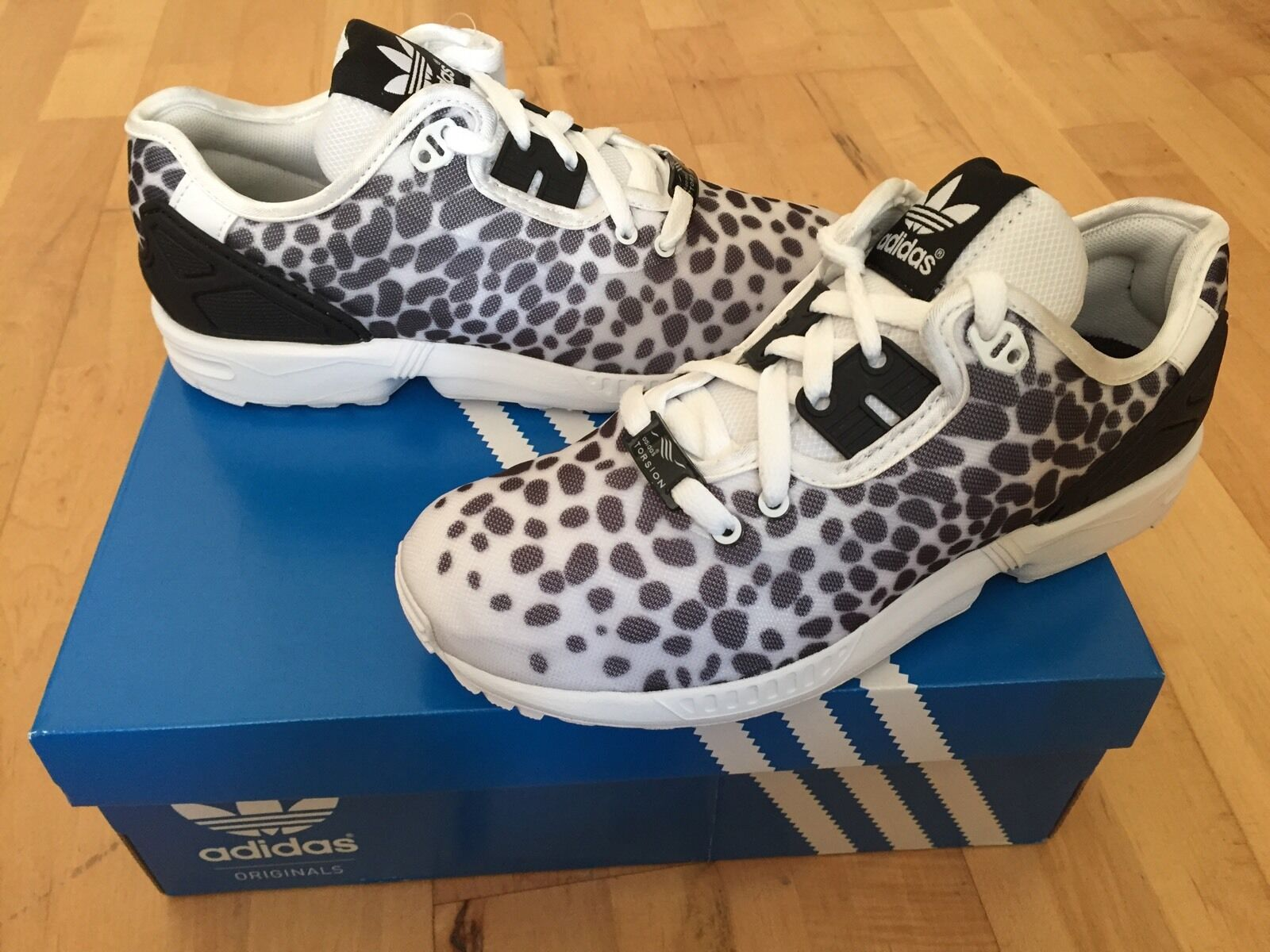 ADIDAS ZX Flux Decon Size Womens Trainers, White - Size Decon 5 578572