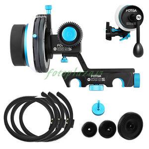 FOTGA-Quick-Release-AB-Hard-Stop-Dampen-Follow-focus-Gear-Belt-Crank-Gear-NEW