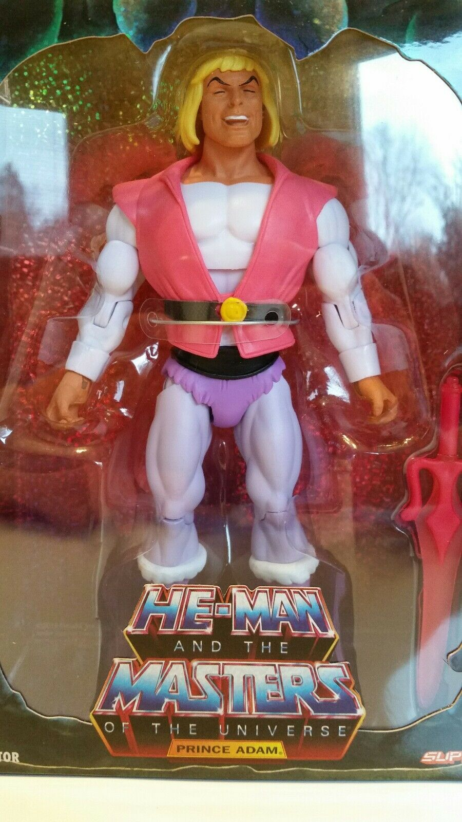 MOTU SUPER 7 LAUGHING PRINCE ADAM 7