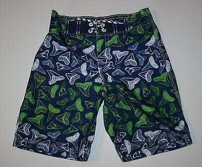 New Gymboree Swim Shop Line Toucan Leaf Print Swim Trunks Size 18-24M 5T NWT