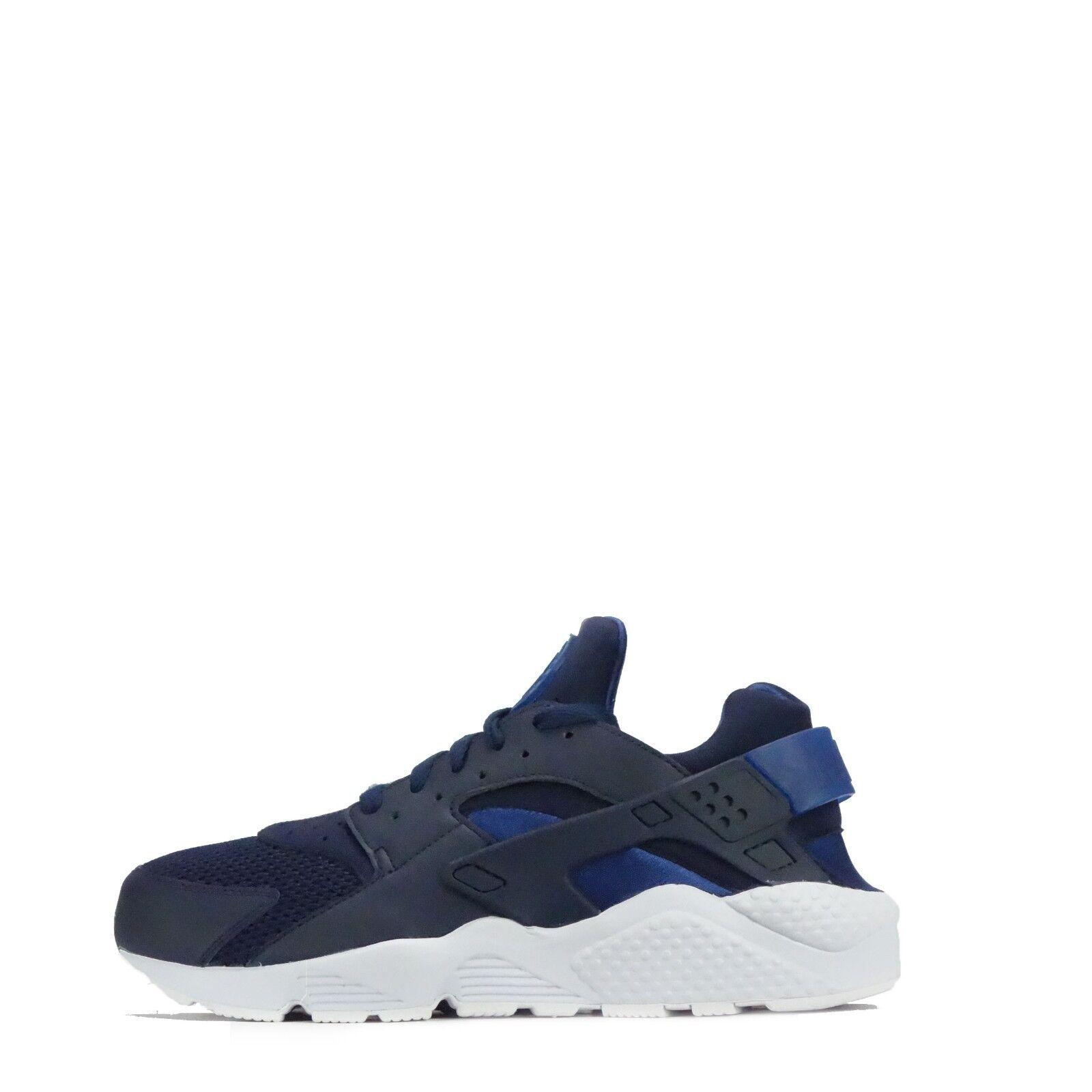 Nike Luft Huarache Herren Turnschuhe Obsidian/Weiß