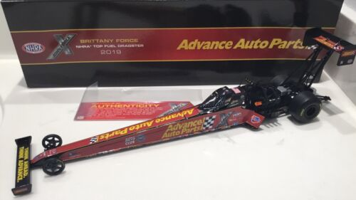 """2019 1//24 Brittany Force """" Advanced Auto Parts """" NHRA Top Fuel Dragster-SD Ship"""