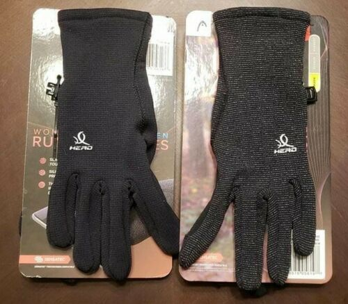Head Womens Touchscreen Running Gloves Various Sizes /& Colors