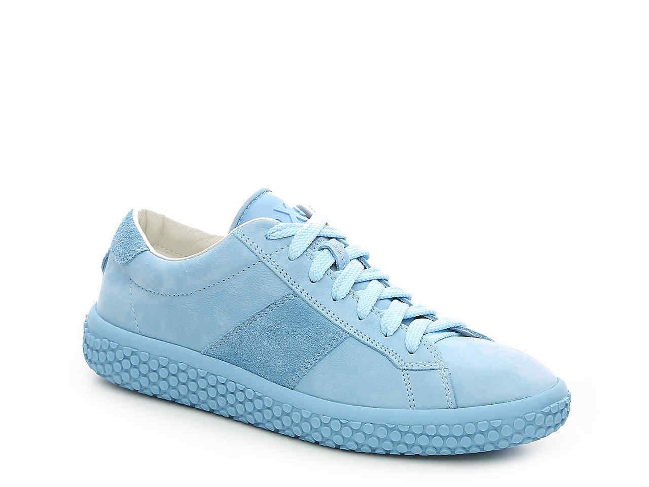oXs ITALY WOOBIE Leather Sneakers Travel Shoe 8.5, 10 NIB Black~Navy~Blue $285