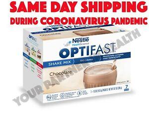 OPTIFAST-800-POWDER-SHAKE-6-BOXES-CHOCOLATE-42-SERVINGS-FRESH-amp-NEW