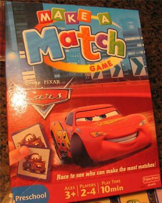 Disney Pixar Cars Matching Game 2007 Disney Cars Characters 47754288674 Ebay
