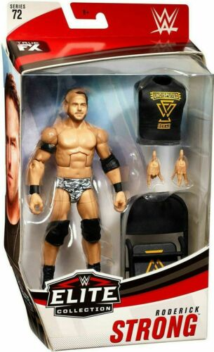 WWE Roderick Strong incontesté ère MATTEL ELITE SERIES 72 Wrestling Figure NXT