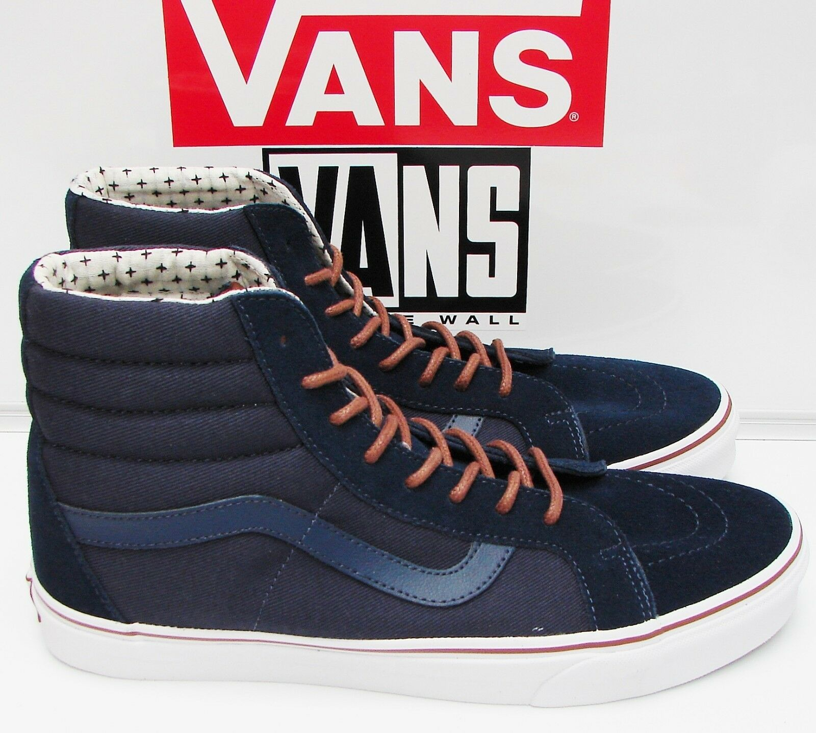 VANS SK8-HI REISSUE (T&S) DRESS blueES PLUS VN-000ZA0H0O Men's size  6.5