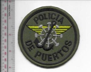 Puerto Rico Municipal Police Maritime Unit Patch