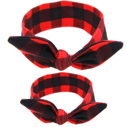1Set 2PC Mom Mother /& Daughter Baby Girl Bow Headband Hair Band Cute Headwear