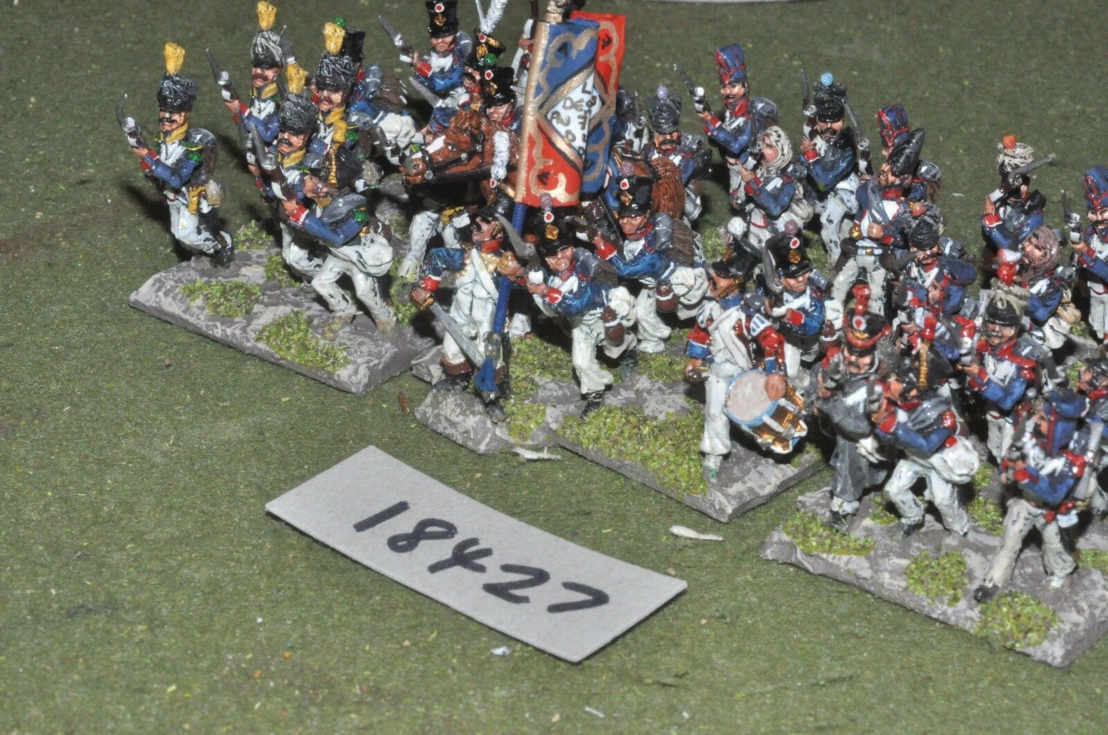 25mm napoleonic   french - infantry 36 figs - inf (18427)