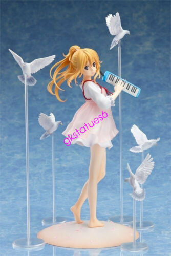 Anime Your Lie in April Miyazono Kaori Casual Ver 1//8 Figure New Toy IN BOX