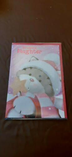Christmas Card For a Special Daughter envelope included NEW QTY 1