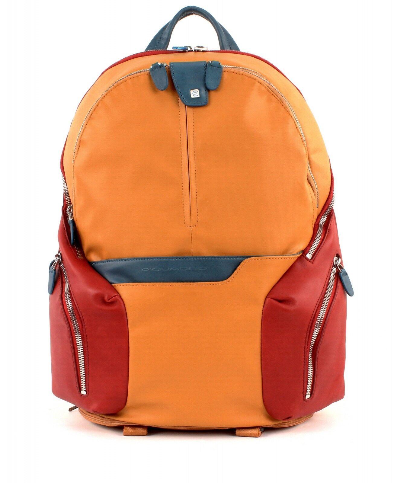 PIQUADRO Zaino Coleos Expeable Laptop Backpack Zaffereo