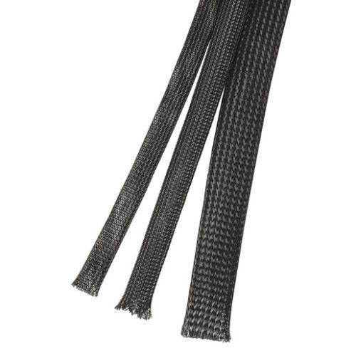 1,25€//m Gewebeschlauch 12-30 mm Geflechtschlauch Gewebe Schläuche Kabelschutz