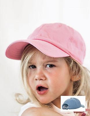 Atlantis Kinder Cap Kids Star Einheitsgröße blau Mütze Kappe Jungen Junior