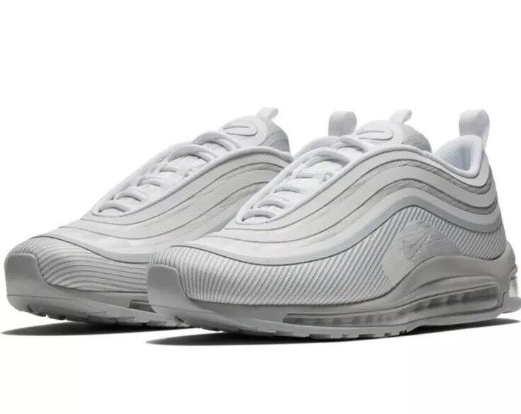 NEW Sz 9.5 Nike Air Max 97 UL '17 Running shoes Pure Platinum 918356-008