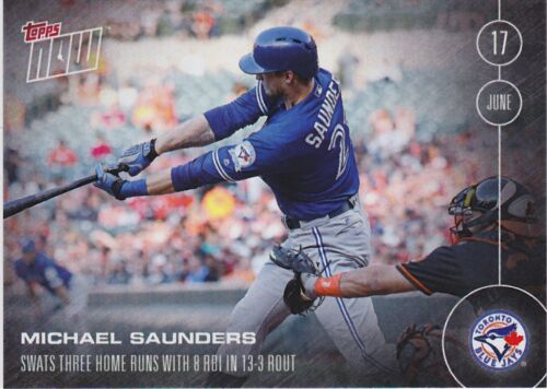 2016 Topps NOW 159 Michael Saunders Toronto Blue Jays ONLY 280 Printed RARE SP