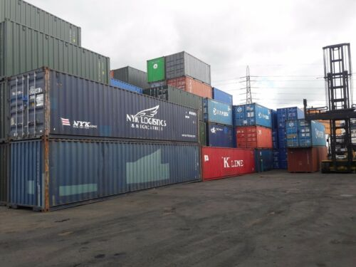 "Used 20/' Shipping Containers For Sale /""From/"" £1150"