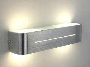 Dettagli su lampada da parete applique moderno alluminio salone cucina  bagno soggiorno camer