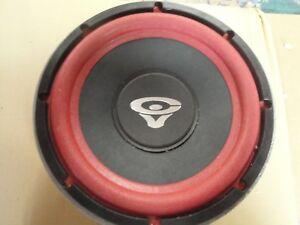 CERWIN-VEGA-4-OHM-8-034-SL-28-Cast-Frame-Red-Cone-Audio-Sub-Woofer-Speaker
