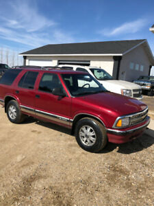 97 Blazer 4x4 SUV for sale