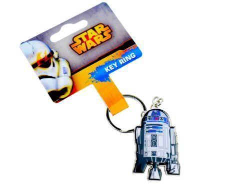 STAR WARS R2D2 Key Ring Metal Car House Locker Key Chain