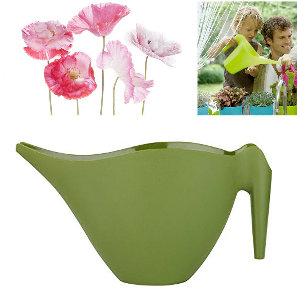 Watering Can Jug Garden Pot1.8 Ltr DIspenser Flower Plant Narrow Spout Bucket